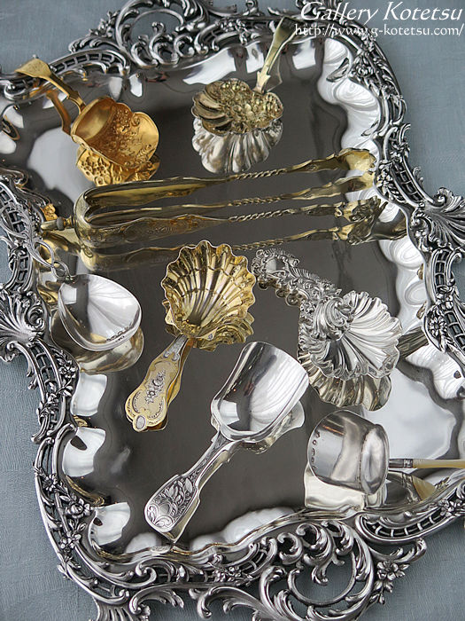 silver teacaddy spoon